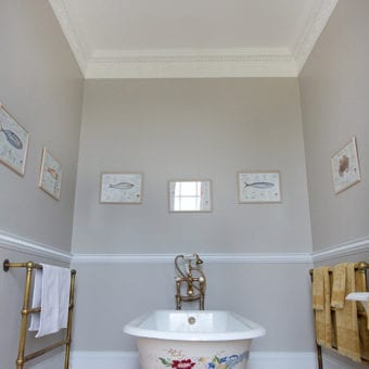 Miss Alex Bedroom en-suite bathroom. Image: Venetia Norrington