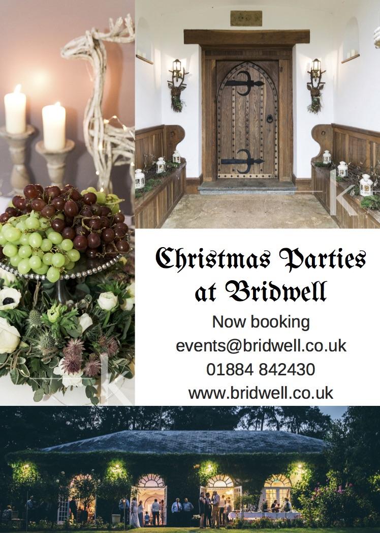 Christmas Parties at Bridwell